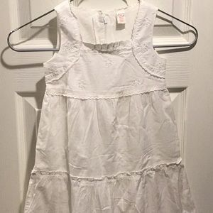 Gap White Toddlers Dress Size 4T
